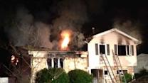 Fast-moving blaze damages Cherry Hill home