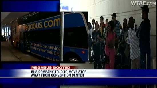 5 Megabus told not to stop at David L. Lawrence Convention CenterFIGHT