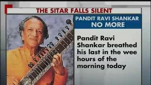 Reactions on sitar maestro Ravi Shankar's death Part-1
