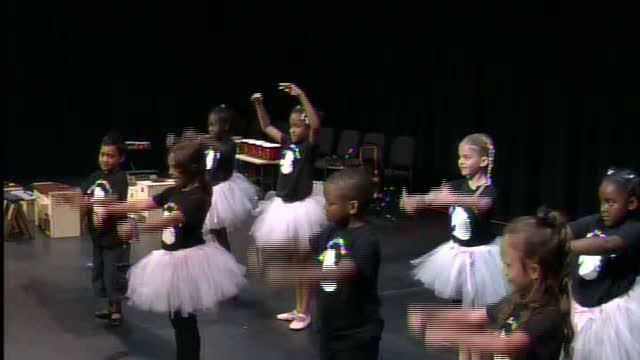 Homeless children learn ballet and life lessons