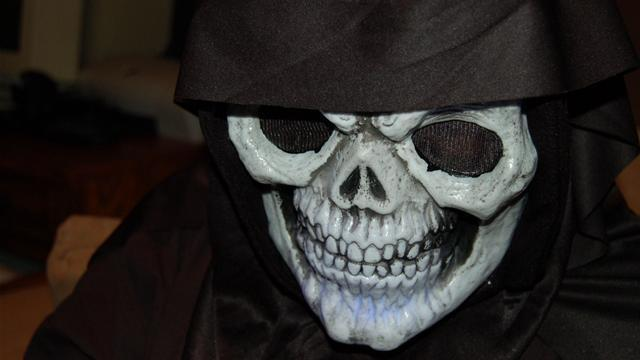 How To Style Black Clothing Into A Skeleton Costume