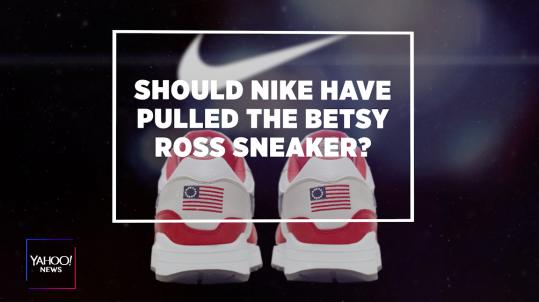 e690cd5f Nike flag shoe: Political correctness too far?