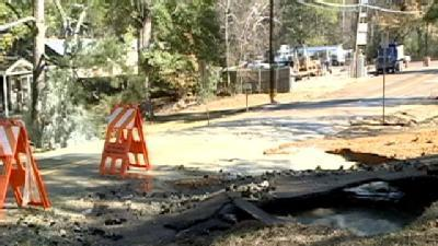 City Works To Fix Water Main Breaks