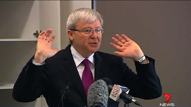 Don't throw in the towel: Rudd