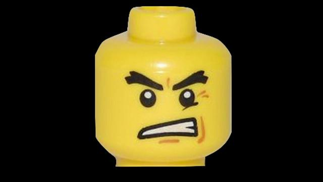 Lego faces are getting angrier