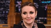 Lena Dunham Shows Off Her Figure in Nothing But Lingerie