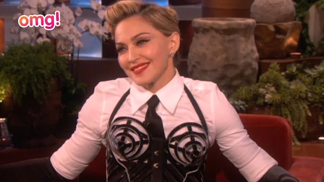 Madonna finally has something nice to say about Lady Gaga!