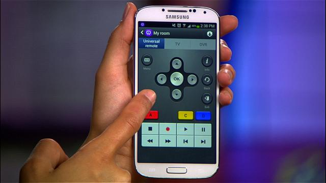 Use your Galaxy S4 as a universal remote