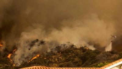 Calif. Wildfire Burns Homes, Forces Evacuations