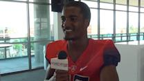 Devin Holiday at Arizona media day