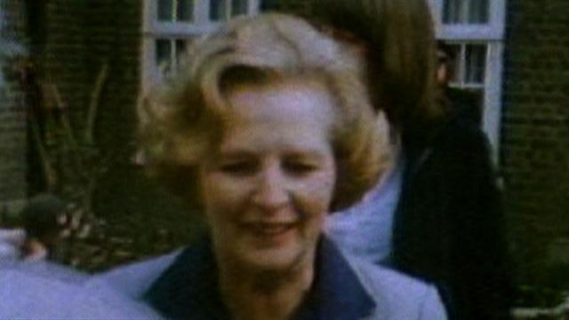 Fmr. British PM Margaret Thatcher dead at 87