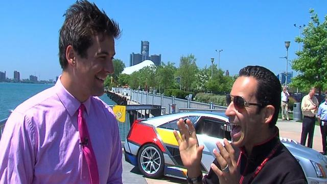 Helio Castroneves gives Brad Galli some relationship advice
