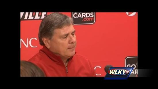 Raw video: Tom Jurich addresses media after Strong departure