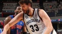 Pistons vs. Grizzlies