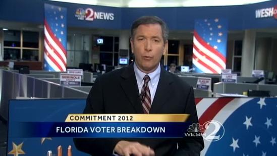 WESH 2 political reporter Greg Fox talks election, voter numbers