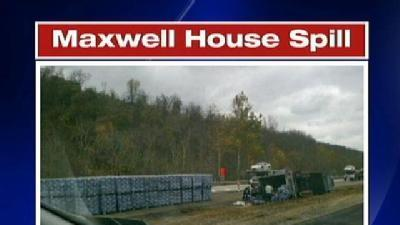 Coffee Spilled All Over I-79
