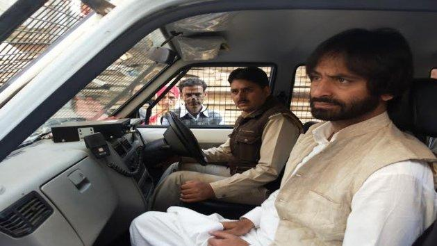 Yasin Malik denied permission to protest in Delhi