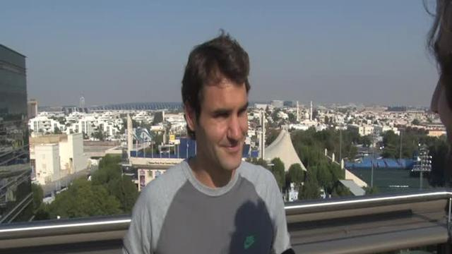 Roger Federer interview: Back in Dubai and predicting a big year in 2014