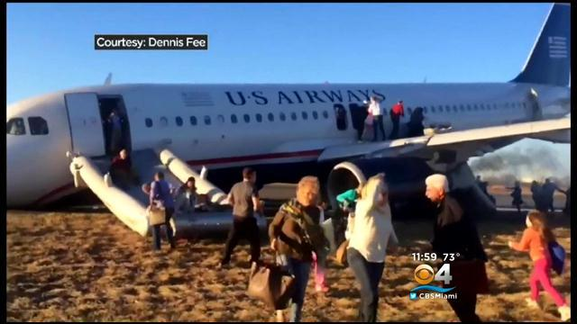 Passengers From Evacuated Plane In Philly Arrive In South Florida