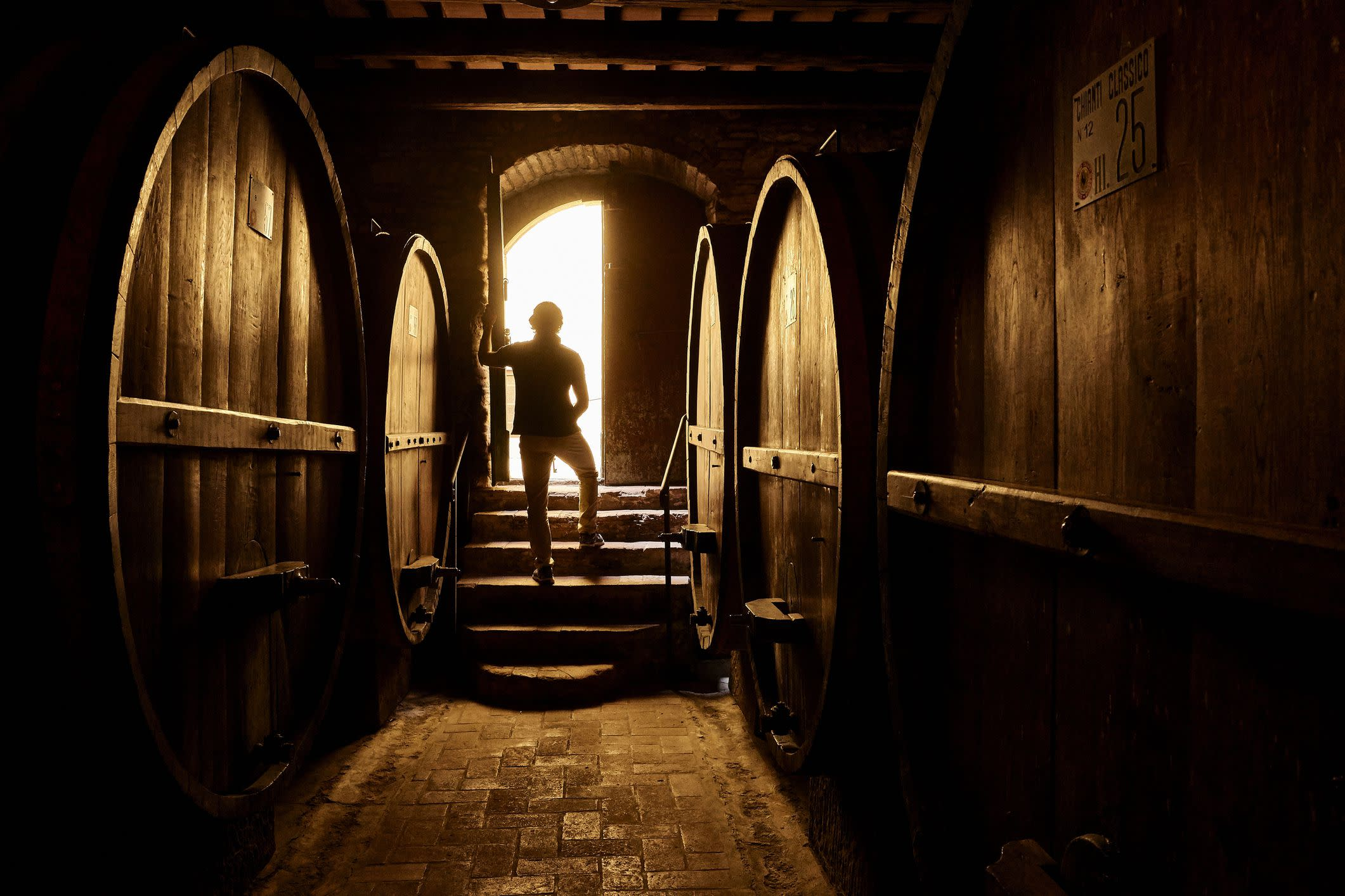 Cellar in Chianti Wine Country, Tuscany