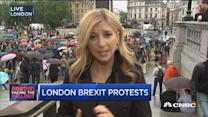 Peaceful 'remain' rally in London