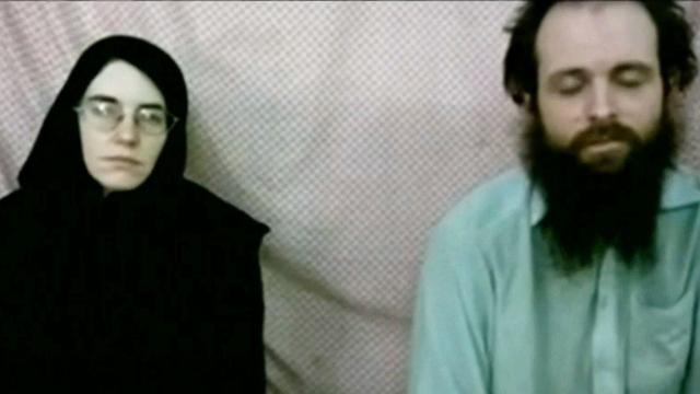 Couple held hostage in Afghanistan pleads for help in newly-released video