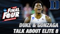Duke and Gonzaga Talk Mutual Respect in Elite 8 Matchup | ACC Road to Indy