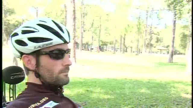 Man rides to raise money for Friedreich's Ataxia