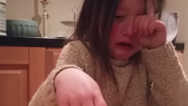 Emotional Five-Year-Old Girl Becomes a Vegetarian