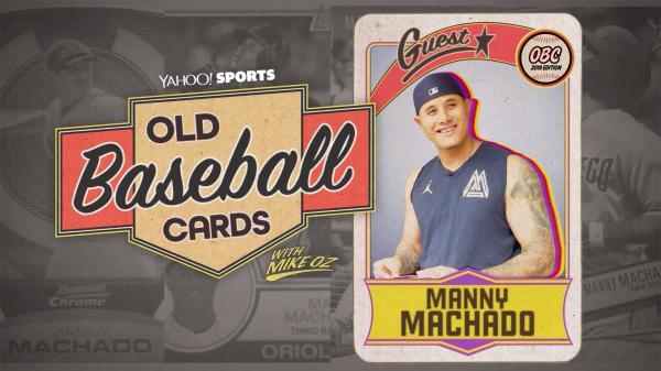 Old Baseball Cards Manny Machado Talks About Pedro Martinez