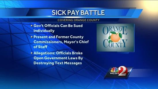 Orange County sick pay issue returns to court