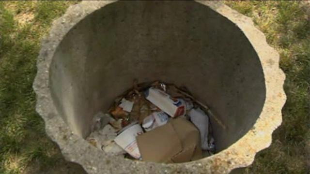 Documents on Chicago criminals found in trash can