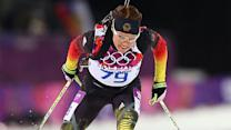 German biathlete tests positive for doping