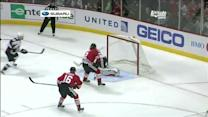 O'Reilly swings in front for goal on Crawford
