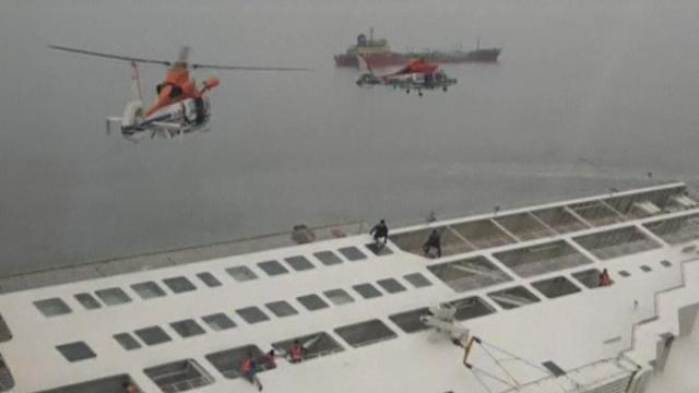 More than 300 people missing after South Korea ferry sinks