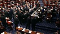 Senate begins voting to avoid 'fiscal cliff'