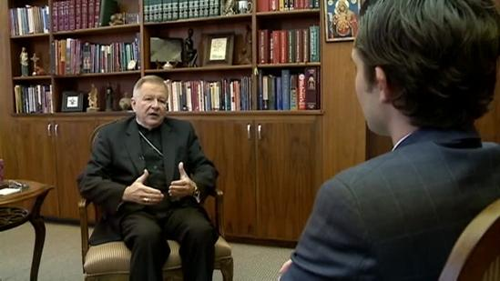 Raw interview: Aymond on the pope stepping down (Part 1)