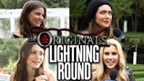 """""""The Originals"""" Want Taylor Swift Guest Star - Lightning Round Random Questions"""