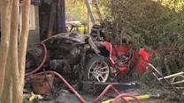 First Home Struck By Lightning, Now By Car