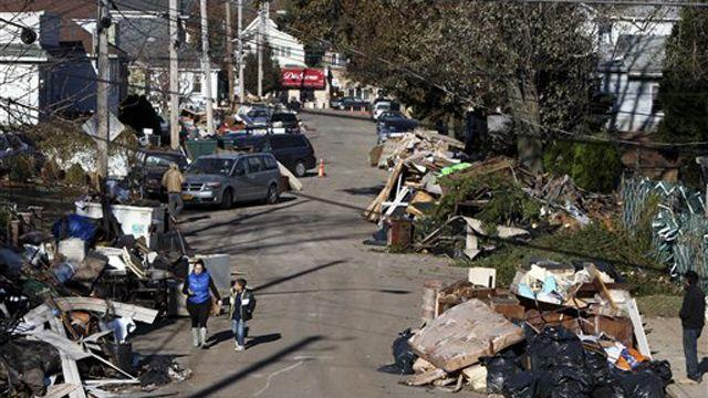 Growing frustration nearly a week after superstorm Sandy
