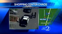 Armed shopper fires shots at suspected shoplifter