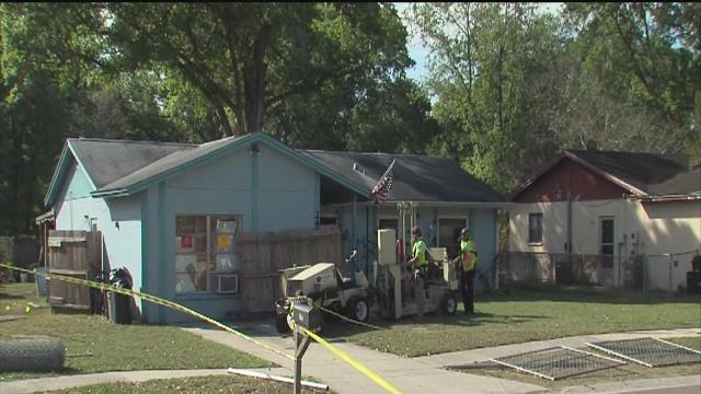 sinkhole swallows man, search suspended