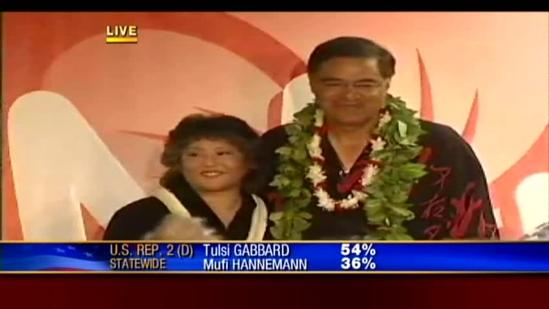 Mufi Hannemann faces election results; concedes from election