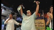 Florida man eats his way to pie eating contest success