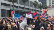 Hundreds Mark Armenian Genocide in Los Angeles March