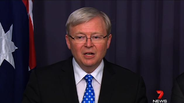 Rudd reinstated as Labor leader