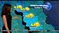 WBZ AccuWeather Morning Forecast For April 1