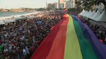 Hundreds of thousands celebrate Rio's 18th Gay Pride