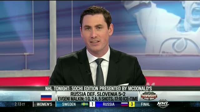 NHL Tonight: Who stood out for Russia?