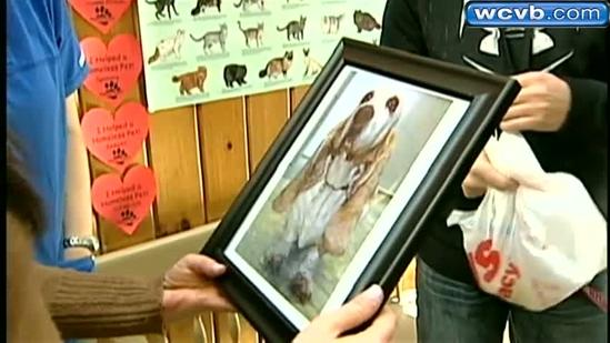 Dog, former owner reunited after 10 years